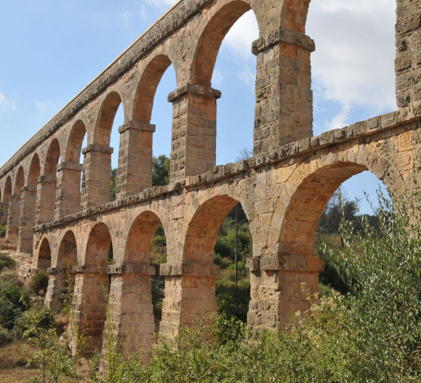 """Acueducto romano de Tarraco """"Pont del Diable"""""""